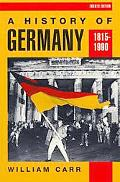 History of Germany 1815-1990