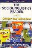 Sociolinguistics Reader Gender and Discourse
