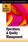 Operations and Quality Management (Business Checklists)