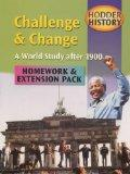Challenge and Change: Extension Pack: World Issues After 1900 (Hodder History)