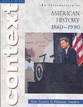 Introduction to American History 1860-1990