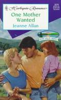 One Mother Wanted: Hope Valley Brides - Jeanne Allan - Mass Market Paperback