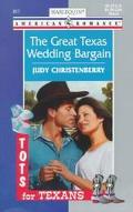 Great Texas Wedding Bargain - Judy Christenberry - Mass Market Paperback