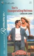 Tex's Exasperating Heiress: The Brubaker Brides - Carolyn Zane - Mass Market Paperback