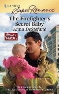 The Firefighter's Secret Baby (Harlequin Superromance)