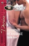 Condition of Marriage (Silhouette Desire #1675)