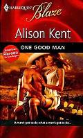 One Good Man (Harlequin Blaze)