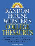 Random House Webster's Coll.thesaurus
