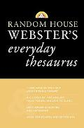 Random House Webster's Everyday Thesaurus