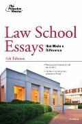 Law School Essays that Made a Difference, 4th Edition (Graduate School Admissions Guides)