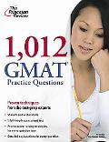 1,012 GMAT Practice Questions