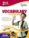 Second Grade Vocabulary Puzzles (Sylvan Workbooks)