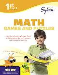 First Grade Math Games & Puzzles (Sylvan Workbooks) (Math Workbooks)