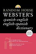 Random House Webster's Dictionary Spanish-english English-spanish