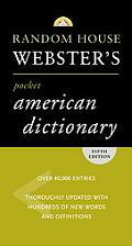 Random House Webster's Pocket American Dictionary, Fifth Edition