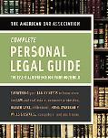 The American Bar Association Complete Personal Legal Guide