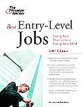 Best Entry-Level Jobs 2007