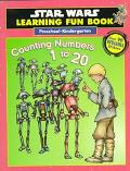 Star Wars Learning Fun Book: Preschool-Kindergarten Counting Numbers 1 to 20: