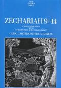 Zechariah 9-14 A New Translation With Introduction and Commentary