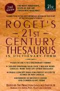 Roget's 21st Century Thesaurus - Barbara Ann Kipfer - Paperback - REPRINT