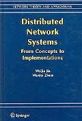 Distributed Network Systems From Concepts To Implementations