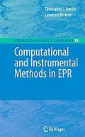 Computational and Instrumental Methods in EPR