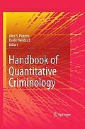 Handbook of Quantitative Criminology