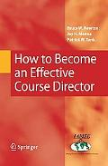 How to Become an Effective Course Director