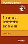 Proportional Optimization and Fairness