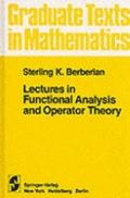 Lectures in Functional Analysis and Operator Theory - S. K. Berberian - Hardcover