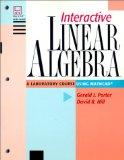 Interactive Linear Algebra: A Laboratory Course Using Mathcad (TM) (Textbooks in Mathematica...