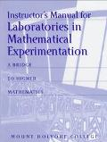 Laboratories in Mathematical Experimentation: Bridge to Higher Mathematics