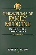 Fundamentals of Family Medicine The Family Medicine Clerkship Textbook