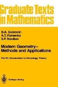Modern Geometry-Methods and Applications Part 3 Introduction to Homology Theory