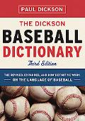The Dickson Baseball Dictionary