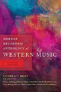 Norton Recorded Anthology of Western Music (Sixth Edition)  (Vol. Concise Version)