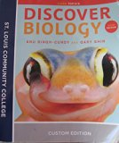 Discover Biology w/ Access Code Core Topics St. Louis Community CollegeCustom Editon