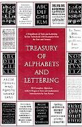Treasury of Alphabets and Lettering A Source Book of the Best Letter Forms of Past and Prese...