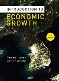 Introduction to Economic Growth (Third Edition)