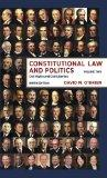 Constitutional Law and Politics: Civil Rights and Civil Liberties (Ninth Edition)  (Vol. 2)