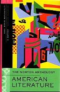 The Norton Anthology of American Literature: Volume E: 1945 to the Present