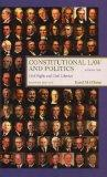 Constitutional Law and Politics: Civil Rights and Civil Liberties, Seventh Edition, Volume 2