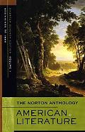 The Norton Anthology of American Literature, Shorter Seventh Edition, Volume 1: Beginnings t...