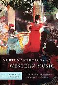 Norton Anthology of Western Music, Sixth Edition, Volume 1