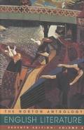 Norton Anthology of English Literature (Volume 2 with Audio CD)