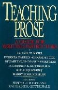 Teaching Prose A Guide for Writing Instructors