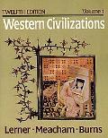 Western Civilizations,v.1