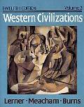 Western Civilizations,v.2