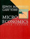 Microeconomics Theory and Applicaitons
