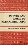 Poetry and Prose of Alexander Pope